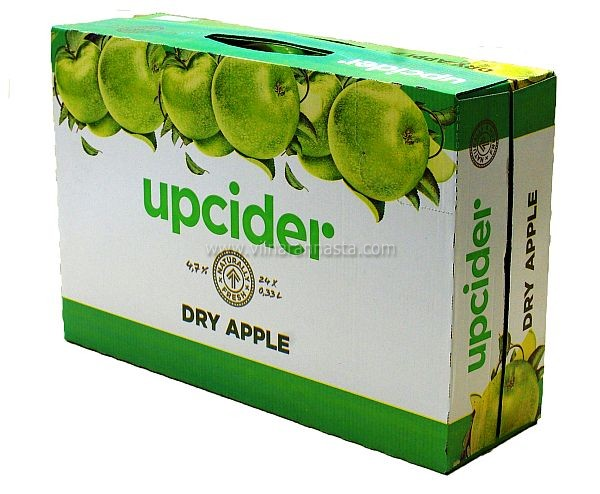 Upcider Dry Apple 4,7% 24x33cl