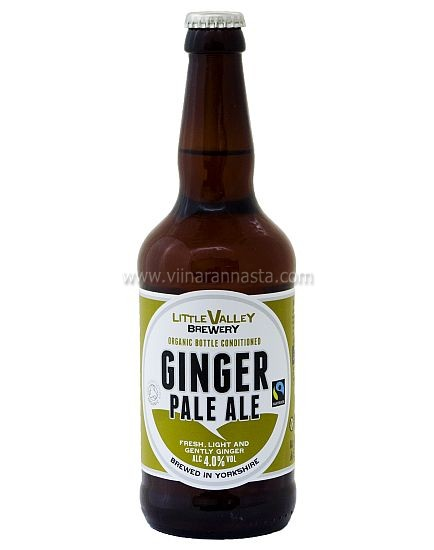 Little Valley Ginger Pale Ale 4% 50cl