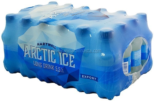 Hartwall Arctic Ice LD 5,5% 24x33cl PET
