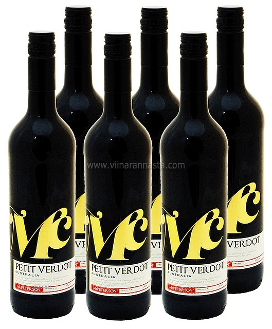 Mc Peterson Petit Verdot 13,5% 6x75cl