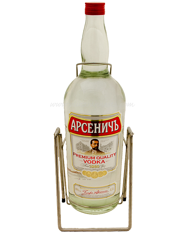 Arsenitch Premium Vodka 40% 450cl