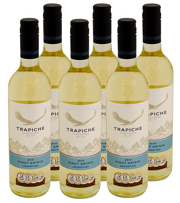 Trapiche Pinot Grigio 12% 6x75cl