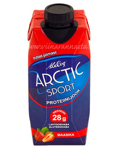 Arctic Sport Proteiinijook Maasika 33cl
