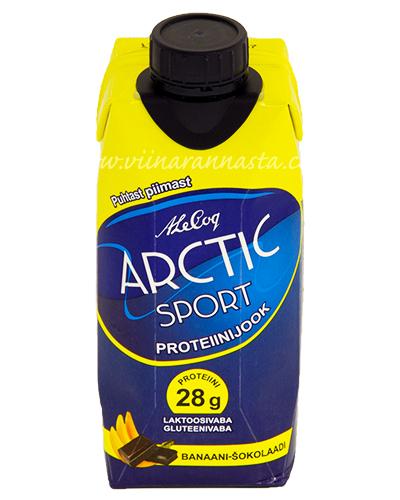 Arctic Sport Proteiinijook Banaani-Šokolaadi 33cl