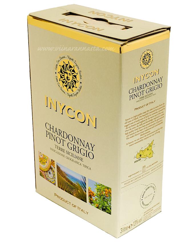 Inycon Chardonnay Pinot Grigio 13,5% 300cl BIB