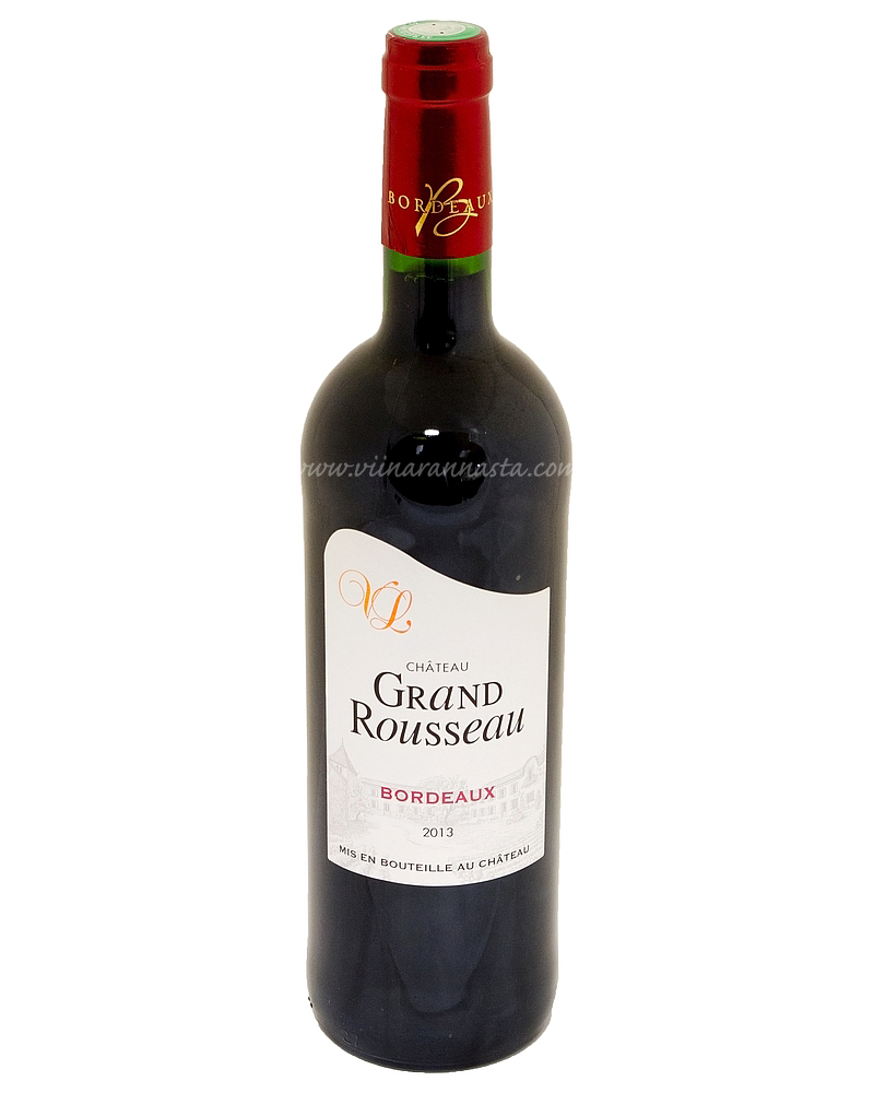 Chateau Grand Rousseau Bordeaux 12,5% 75cl