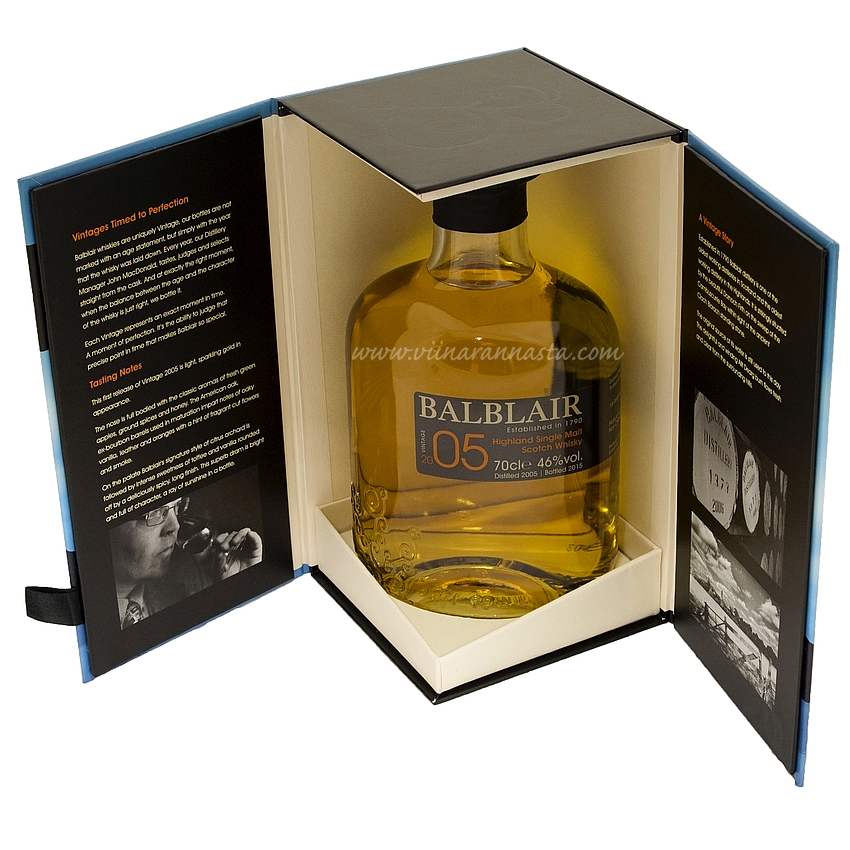 Balblair Highland Single Malt 46% 70cl