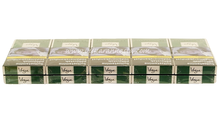 Vogue Green Carton