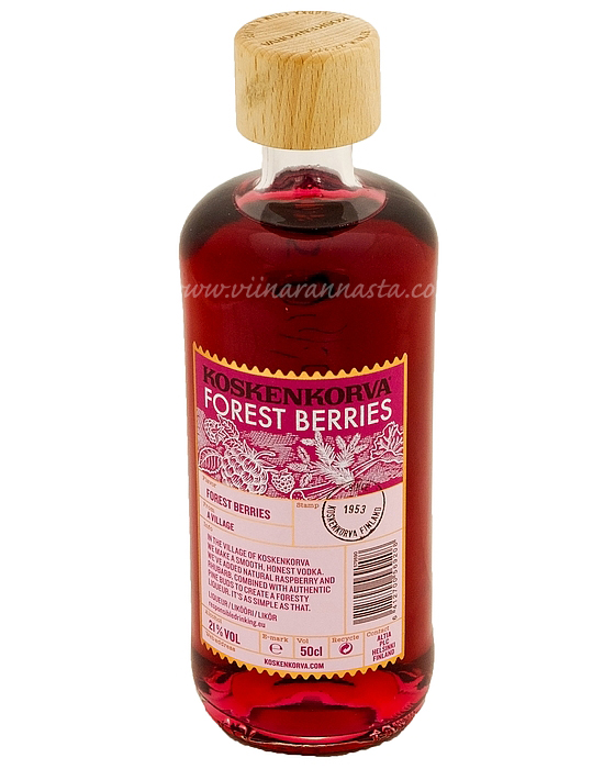 Koskenkorva Forest Berries 21% 50cl