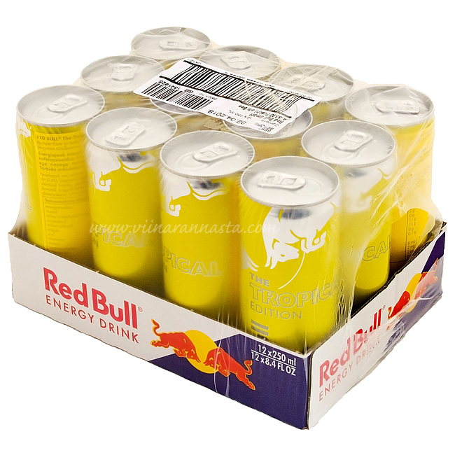 Red Bull Summer Edition Tropical 12x25cl