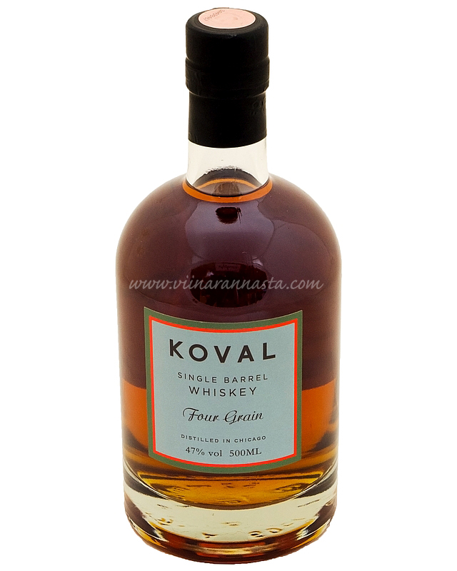 Koval Four Grain Whiskey 47% 50cl