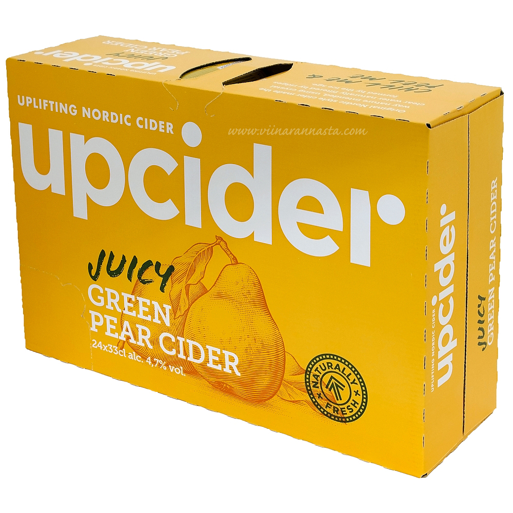 Upcider Green Pear Cider 4,7% 24x33cl