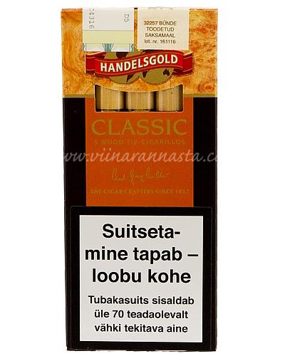 Sigarillo Handelsgold Classic 5 pcs