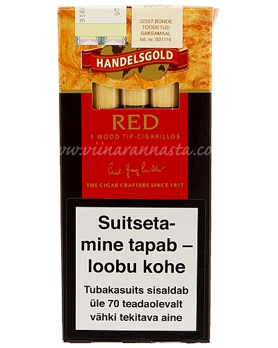Sigarillo Handelsgold Red 5 pcs