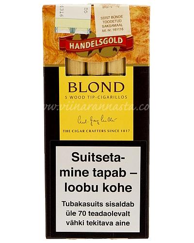Sigarillo Handelsgold Blond 5 pcs