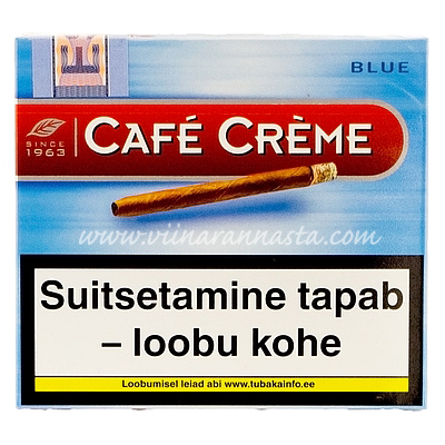 Cafe Creme Blue Sigarillo 10 pcs