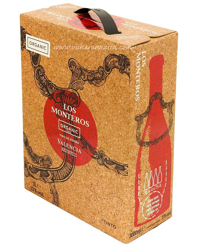 Los Monteros Tinto Organic 13,5% 300cl BIB