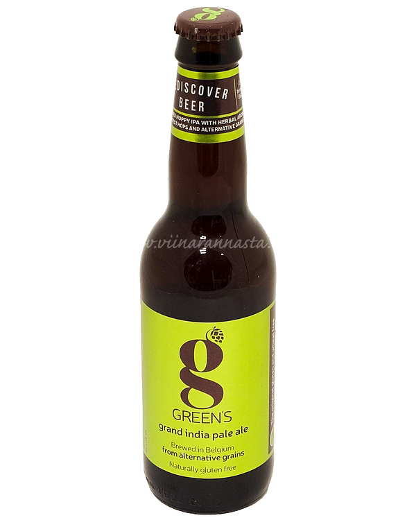 Greens Grand IPA (Gluten free) 5% 33cl
