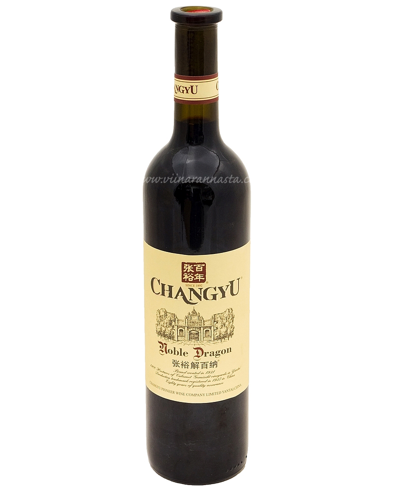 Changyu Noble Dragon Red 12% 75cl