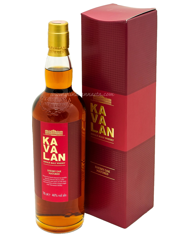 Kavalan Sherry Oak 46% 70cl