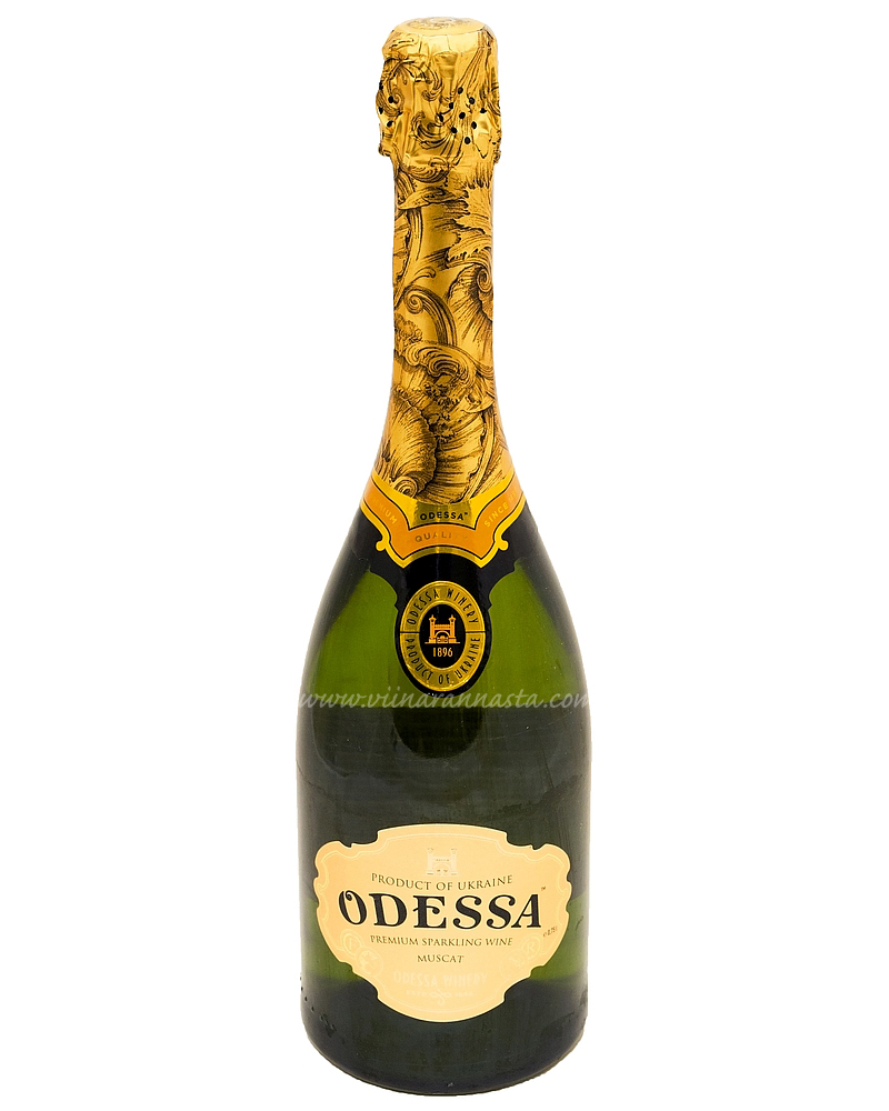 Odessa Muscat Sweet Sparkling Wine 12% 75cl
