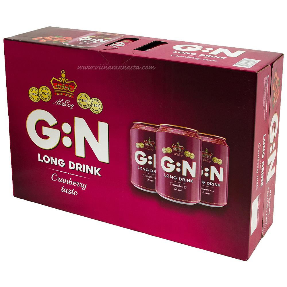 A.Le Coq G:N Cranberry 5,5% 24x33cl