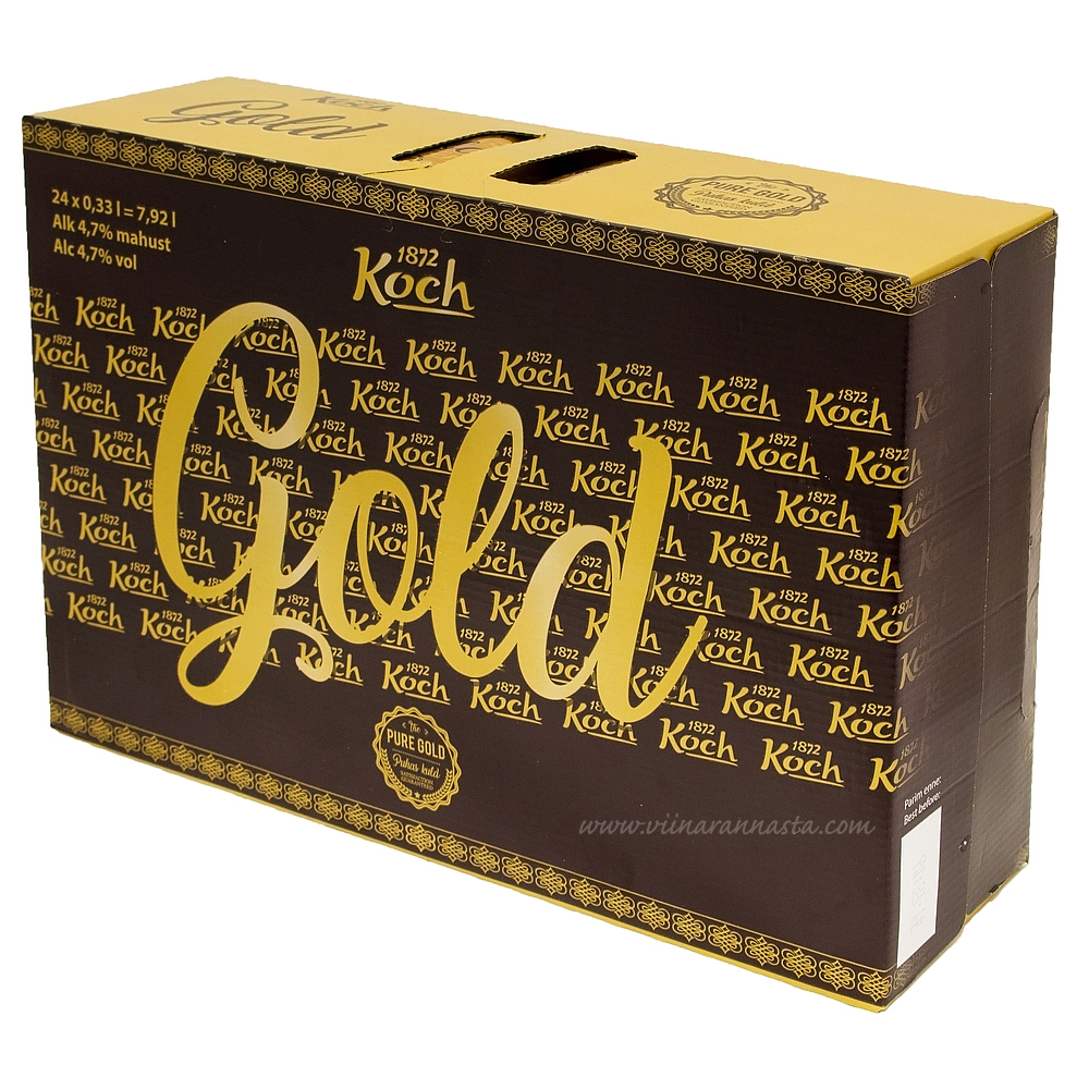 Koch Gold Beer 4,7% 24x33cl
