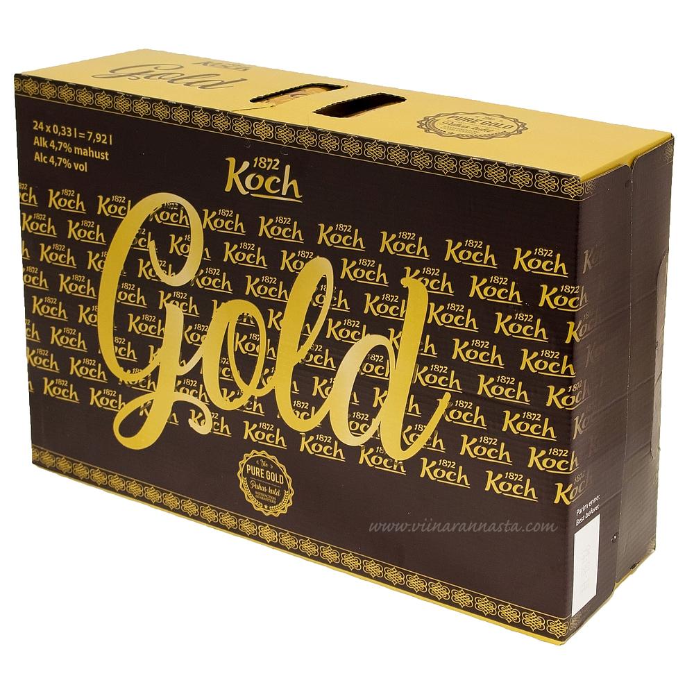 Koch Gold Beer 4,7% 24x33cl