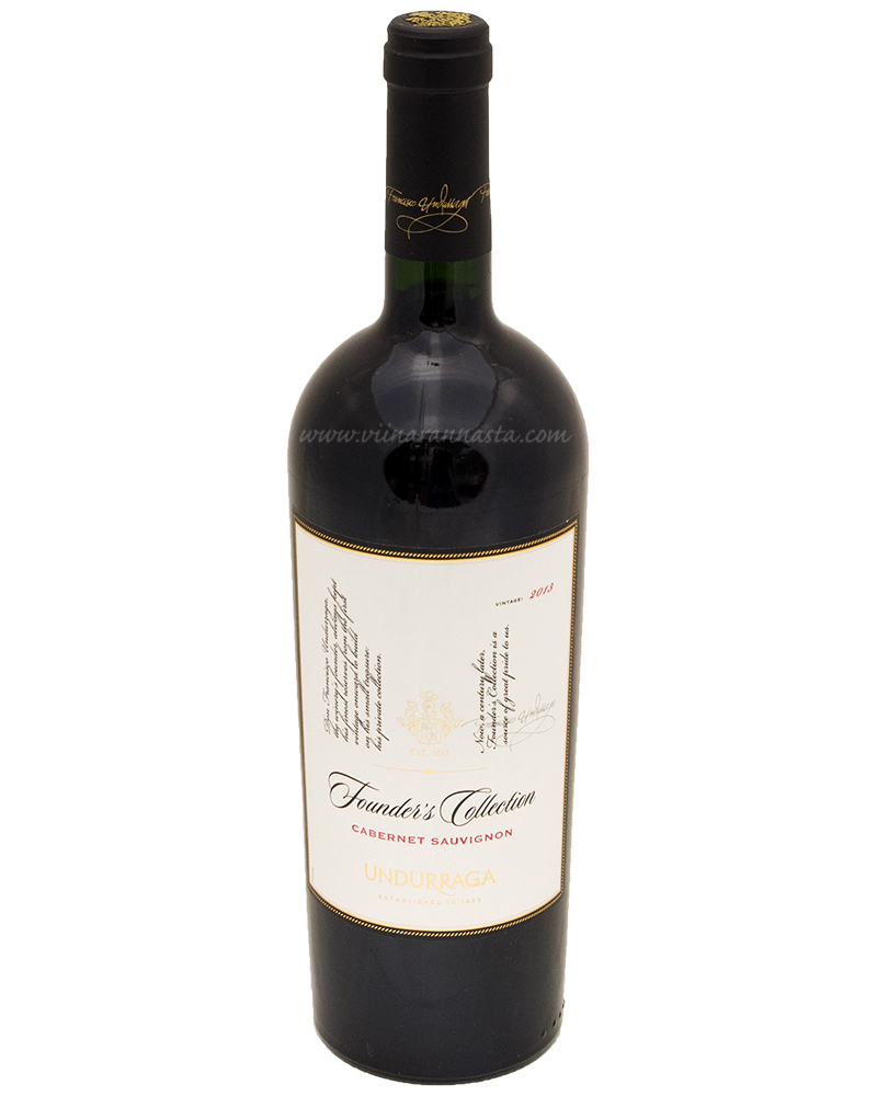 Undurraga Founders Collection Cabernet Sauvignon 14% 75cl