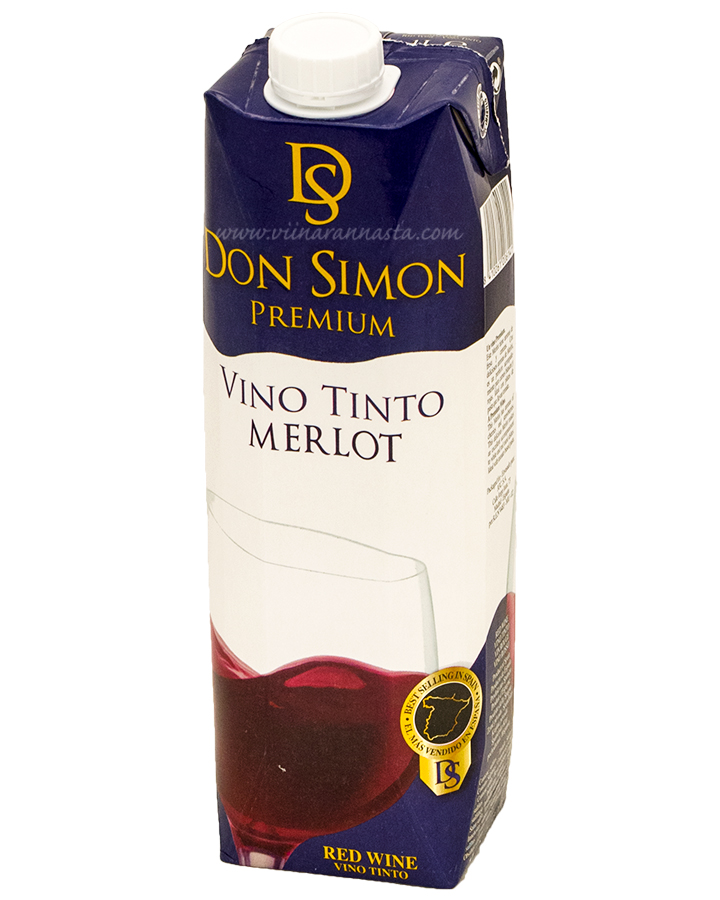 Don Simon Merlot 12% 100cl TETRA