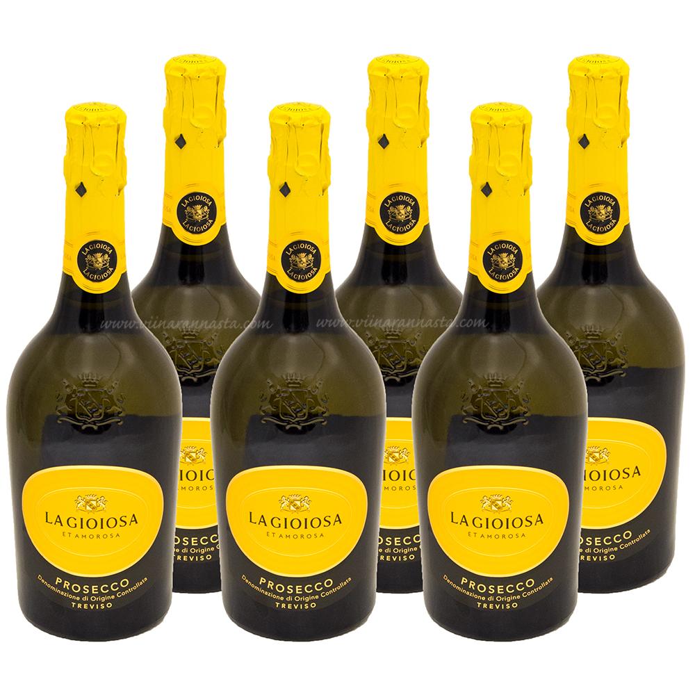 La Gioiosa Prosecco Treviso DOC Brut 11% 6x75cl