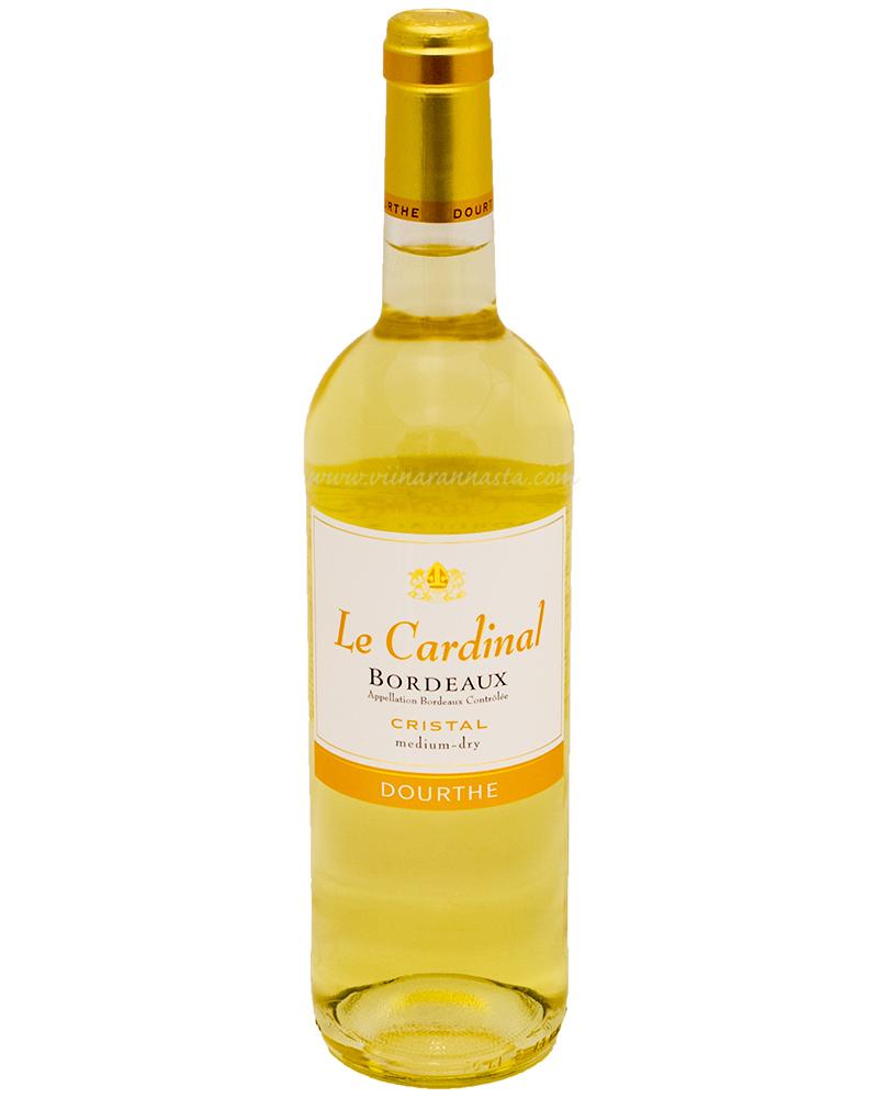 Dourthe Le Cardinal Medium Dry 11% 75cl