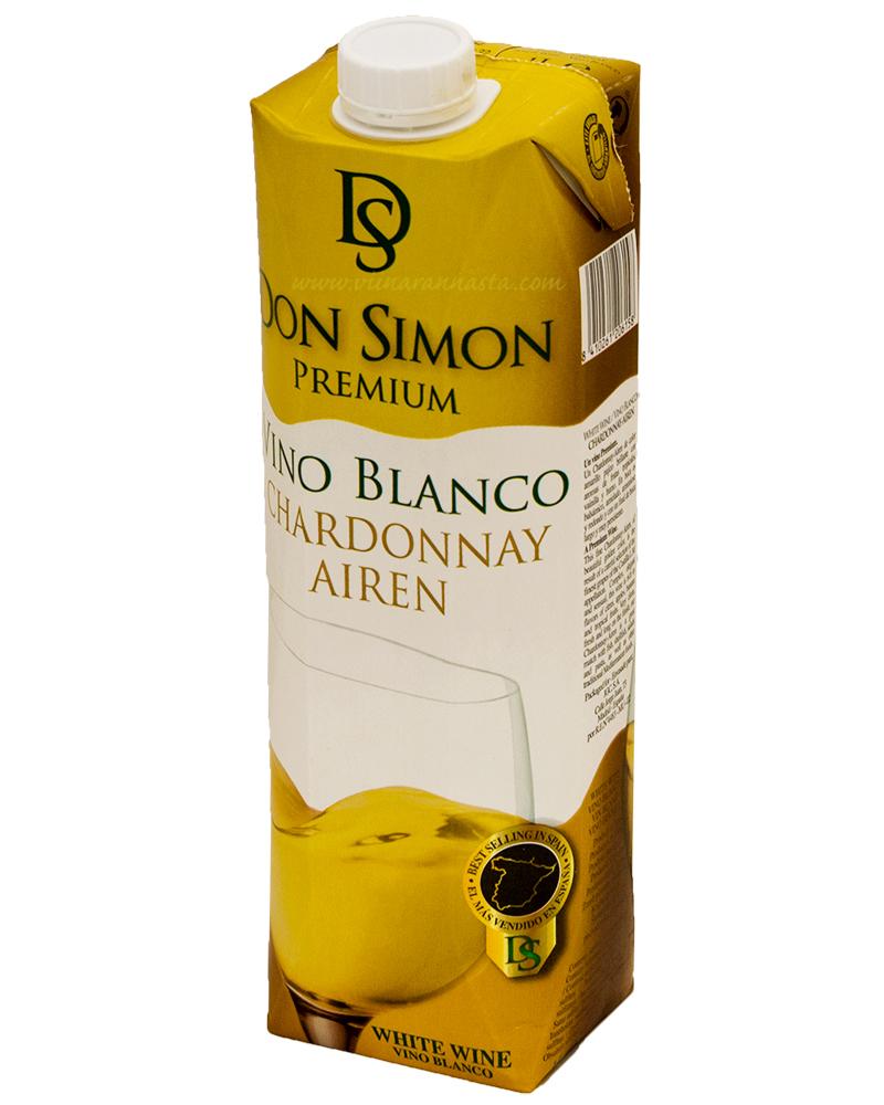 Don Simon Chardonnay Airen 11% 100cl TETRA