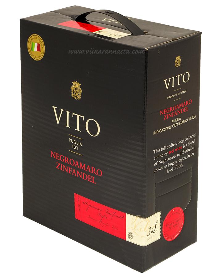 Vito Negroamaro Zinfandel 13,5% 300cl BIB