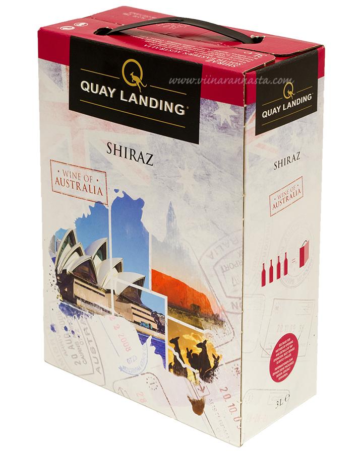 Quay Landing Shiraz 13% 300cl BIB