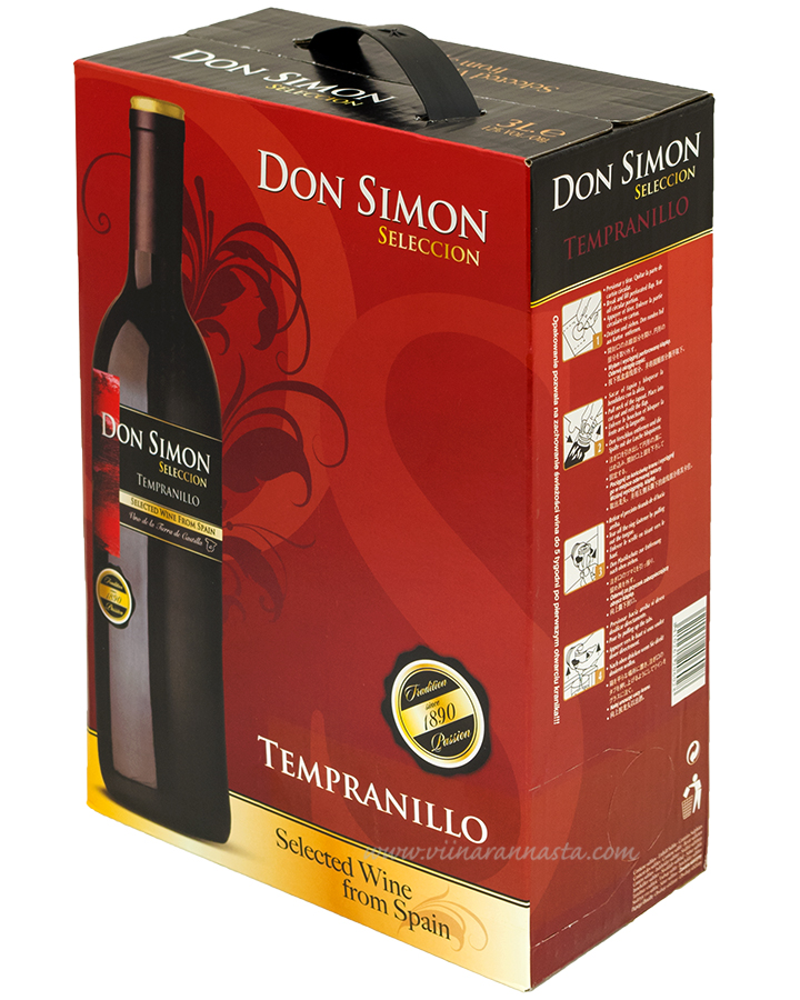 Don Simon Seleccion Tempranillo 12% 300cl BIB