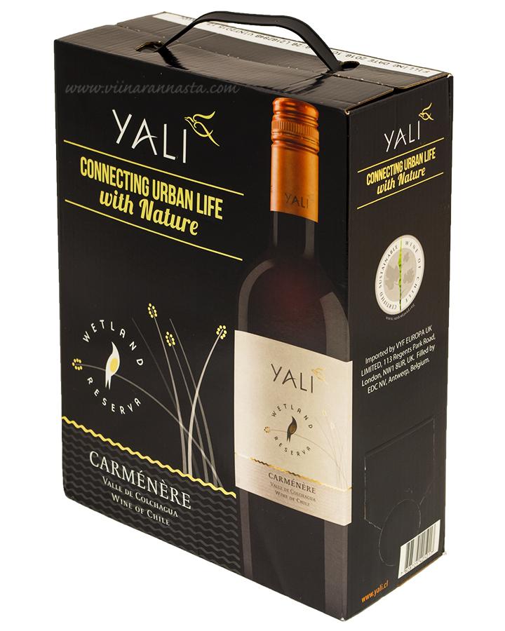 Yali Reserva Carmenere 13,5% 300cl BIB