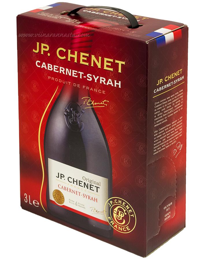 J.P.Chenet Cabernet Syrah 13% 300cl BIB
