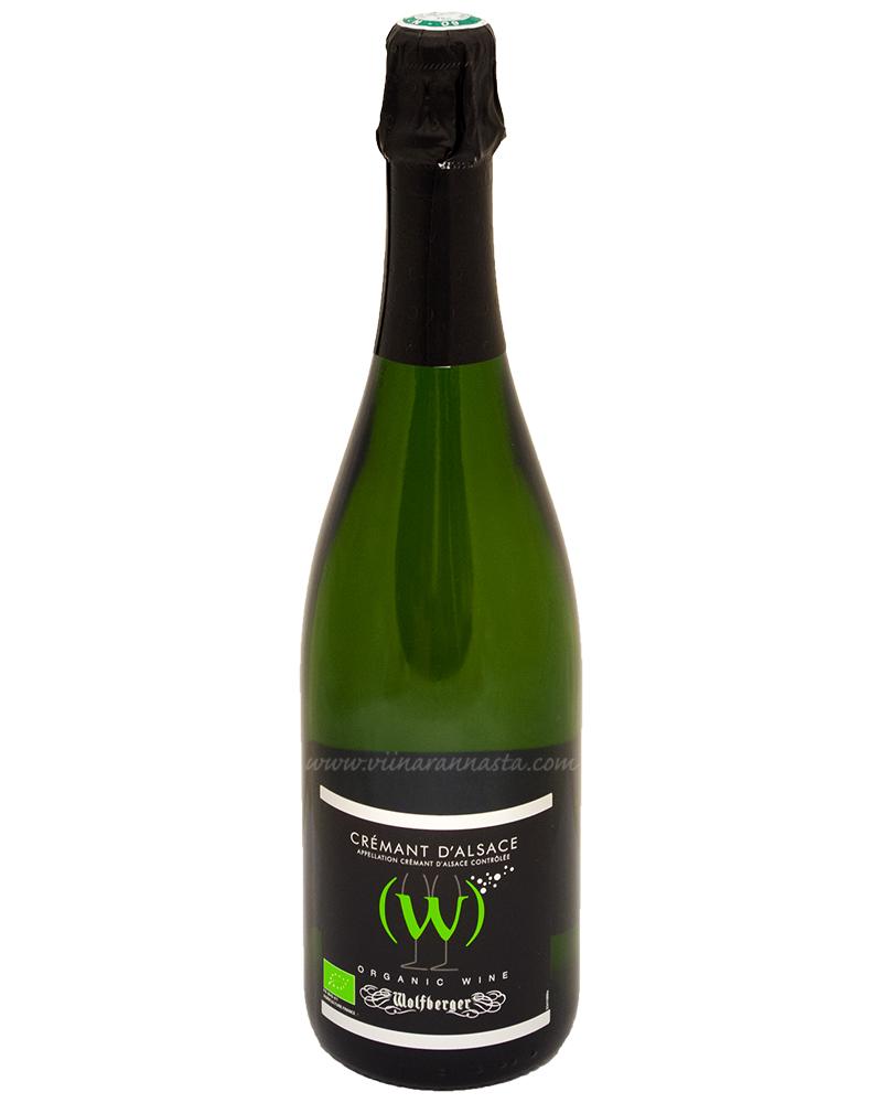 Wolfberger Cremant D Alsace (W) Brut Organic 12,5% 75cl