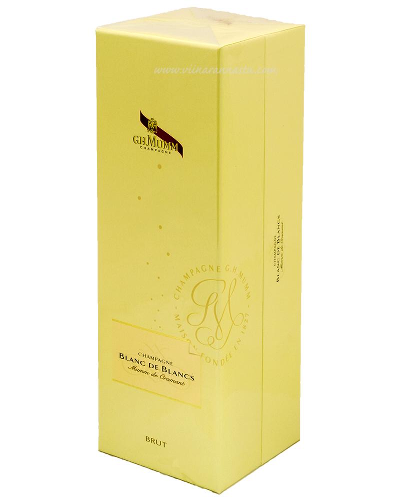 G.H.Mumm Blanc de Blancs de Cramant Champagne 12% 75cl
