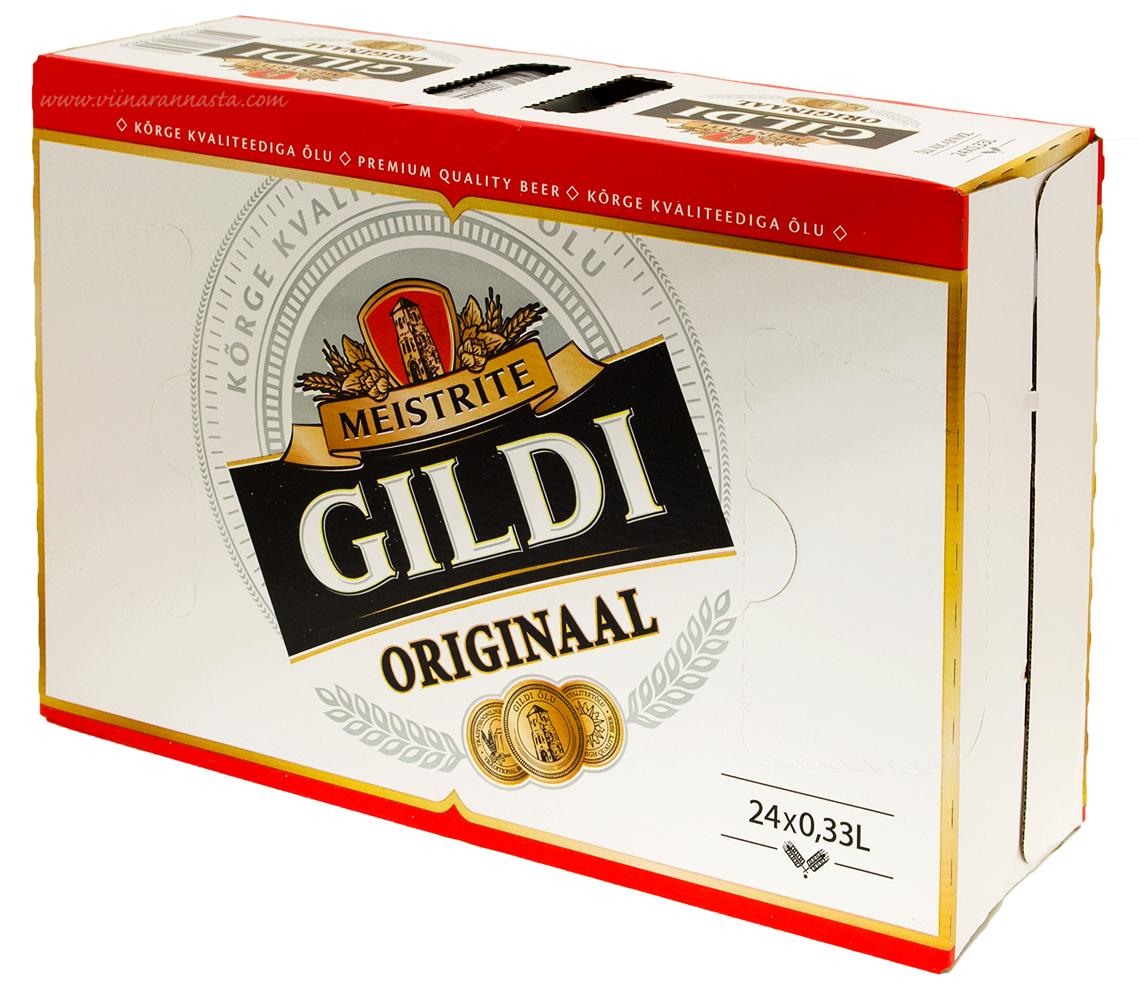 Meistrite Gildi Originaal 4,8% 24x33cl