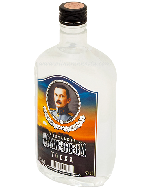 Mannerheim Vodka 40% 50cl PET