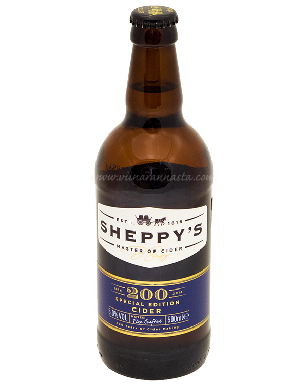 Sheppys 200 Special Edition Cider 5% 50cl