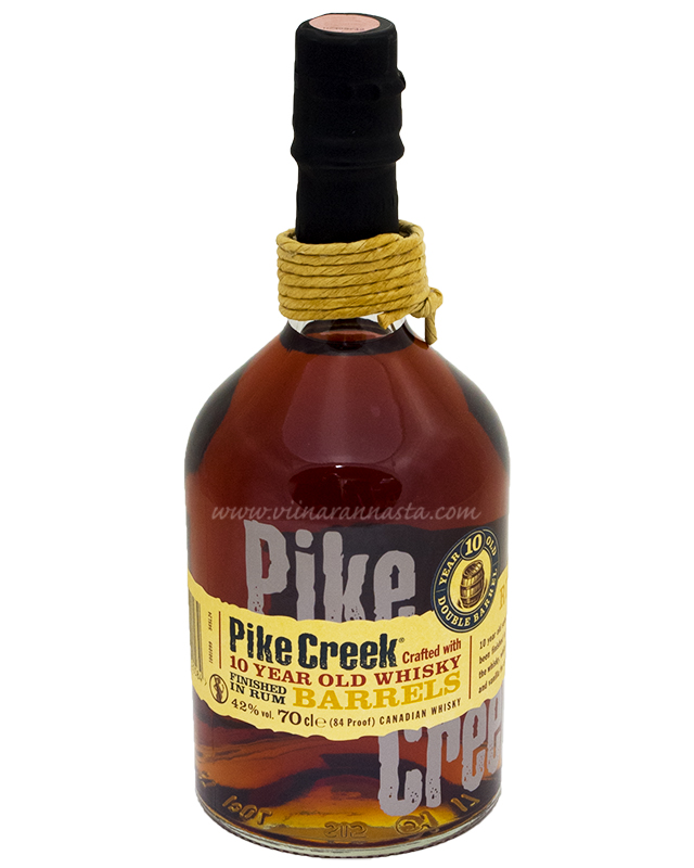 Pike Creek 10YO 42% 70cl