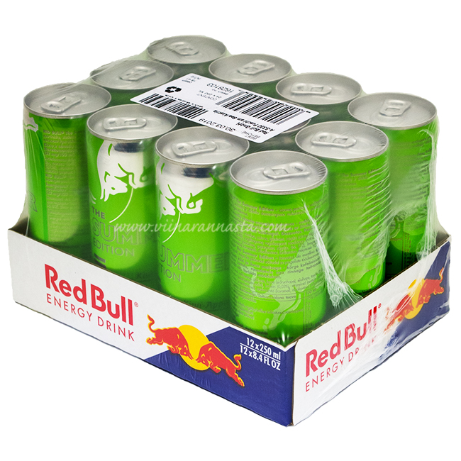 Red Bull Summer Edition Kiwi Apple 12x25cl