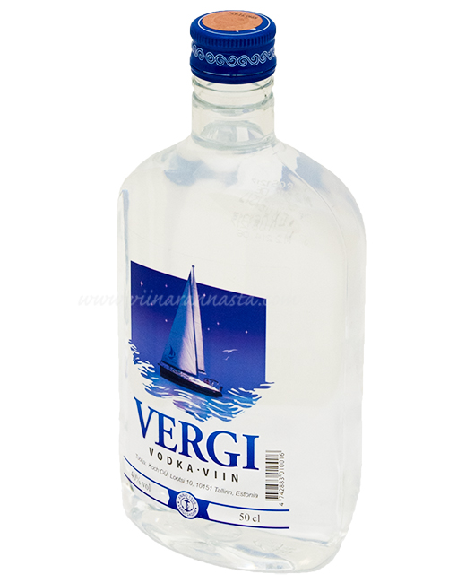 Vergi Vodka 40% 50cl PET
