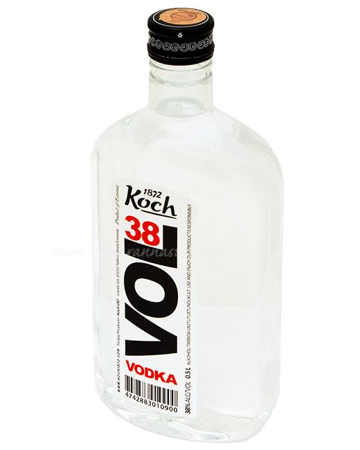 Koch Vol 38 Vodka 38% 50cl PET