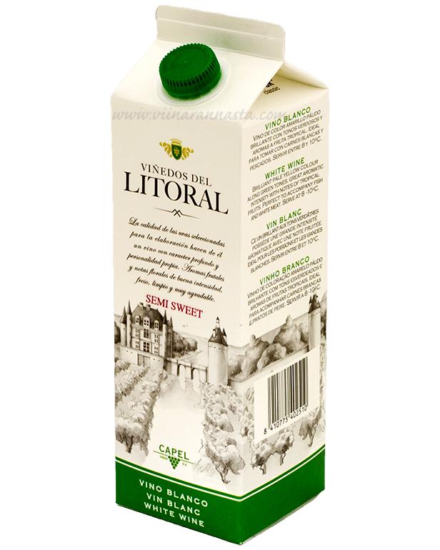 Litoral Blanco 11% 100cl TETRA