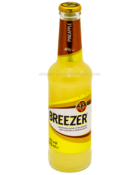 Bacardi Breezer Pineapple 4% 27,5cl