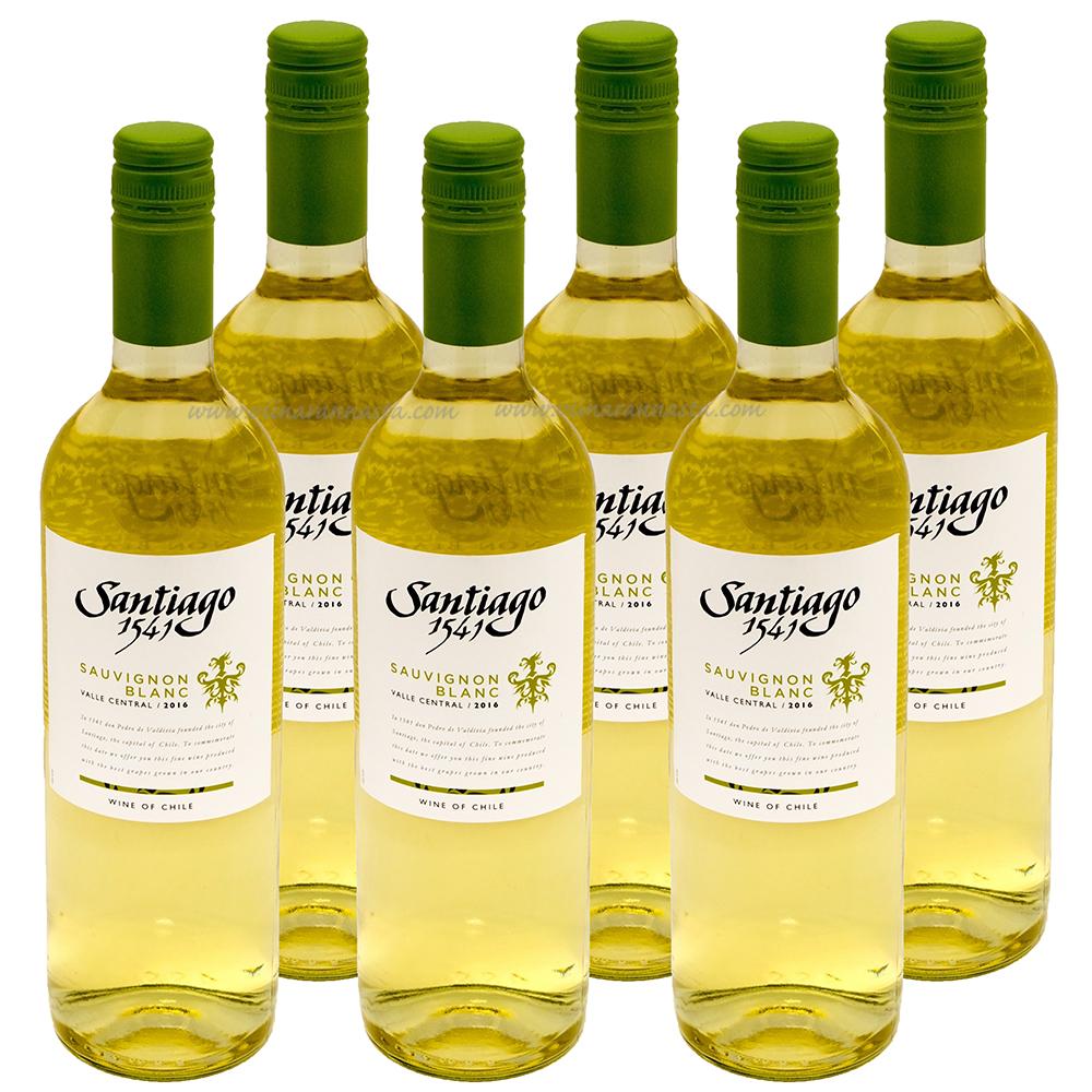 Santiago 1541 Sauvignon Blanc 12% 6x75cl